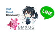 BMXUG女子部勉強会「LINEでお絵描きメッセージを送ってみよう♪」