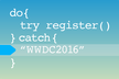 catch WWDC2016 day1