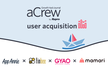 aCrew for User Acquisition ~GYAO,ママリ,finbeeのASO施策~