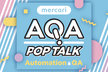 AQA POP TALK #1 〜Agile 2018 参加報告会〜 @mercari