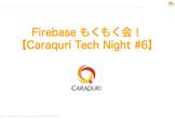 Firebase もくもく会!【Caraquri  Tech Night #6】