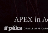 Oracle APEX勉強会 - ユーザー認証と認可の実装を学ぶ