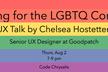 UX Talk: Designing for the LGBTQ Community