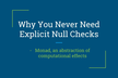 WebHack#10 Why You Never Need Explicit Null Checks