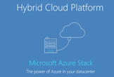 Azure Stack Enterprise Working Group #1