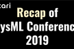 Recap of SysML Conference 2019