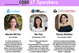 Lightning Talk with Female Founders and Students