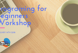Programming for Beginners Workshop
