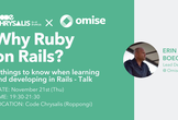 Why Ruby on Rails? 3 Things to Know - Talk