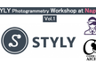 STYLY Photogrammetry Workshop at Nagoya