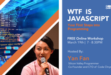 WTF is Javascript: First Steps into Programming