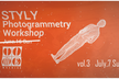 STYLY Photogrammetry Workshop at TIMEMACHINE Vol.3