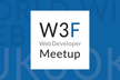 W3F Web Developer Meetup #1