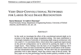 Very deep CNNs for large-scale img recog| 論文輪読会 #4