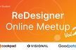 【学生向け】ReDesigner Online MeetUp Vol.2 / 3.25(Wed)