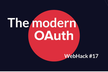 WebHack#17 x @lepture The modern OAuth, 二子玉川