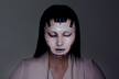 realtime facetracking & projection mapping OMOTE
