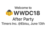 WWDC After Party 2018 at Ebisu