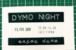 第1回 DYMO NIGHT