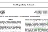 Trust Region Policy Optimization| 論文輪読会 #8
