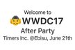 WWDC After Party 2017 @Ebisu