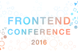 [HTML/CSS/JavaScript] FRONTEND CONFERENCE 2016