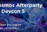 Official Cosmos Afterparty to Devcon V