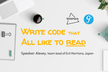 WebHack#31 Write Code that All like to Read