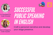 人前で英語を話すコツ (Successful Public Speaking in English)