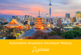 Automation Anywhere Developer Meetup Vol. 1